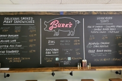 Burk's Barbeque Menu