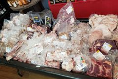 Local meats galore!