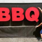 2 bros bbq sign