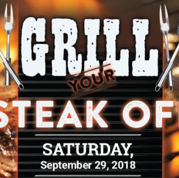 "2018 ""Grill Your Steak Off"" competition"