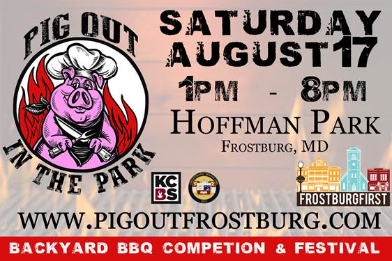 2nd Annual Pig Out in the Park Backyard BBQ Competition & Festival
