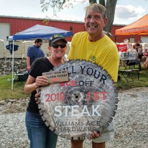 Grill Your Steak Off Winner Robyn Garrett
