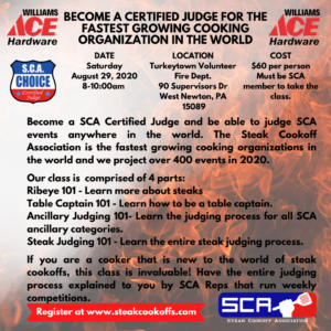 Grill Your Ace off 2020 Judges poster